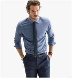 Justice Joslin Graces Massimo Dutti NYC Collection Spring/Summer 2015 Look Book Justice Joslin, Men Formal, Business Outfit, Formal Looks, Trends, Gentleman Style, Casual Street Style, Stylish Men, Mens Suits