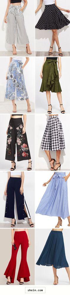 Pants & Skirts start at $12!