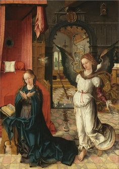 All sizes | Antwerp School - The Annunciation to the Virgin | Flickr - Photo Sharing!