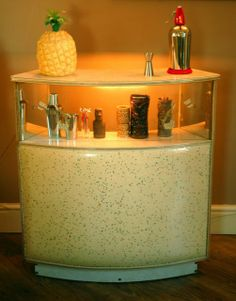 Retro vintage mini bar - mid century too !