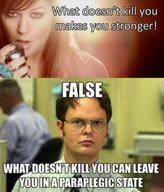 Oh Dwight, how right you are.