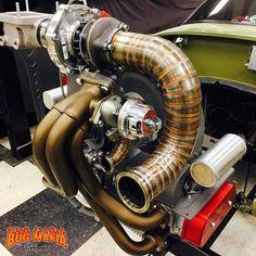 Volkswagen, Vw Turbo, Vw Baja Bug, Vw Engine, Porsche 550, Beach Buggy, Race Engines, Vw Cars, Mechanical Design