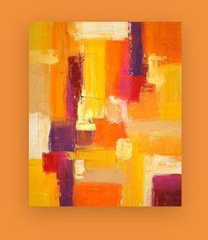 Este es un original de una pintura de tipo acrílico artista Birenbaum Ora.  Maravillosos tonos tierra cálidos de amarillo, naranja, rojo, óxido y ciruela son acentuados con toques de suave crema y oro metálico.  Lados se terminará. Esta pintura tenía una textura muy rica de profundidad increíble.  Llega firmado, sellado y cableado para fácil visualización.  Título: Calor de otoño Dimensiones: 30x36x1.5  MEDIO: Acrílicos sobre lienzo  VISTAS DE HABITACIÓN NO PUEDEN SER EXACTAS.   Todas mis…