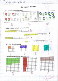 didattica matematica scuola primaria: Dalle frazioni decimali ai numeri decimali: d, c, m - classe terza