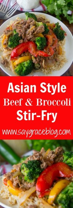 Asian Style Beef & B
