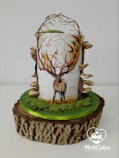 Deer by MOLI Cakes