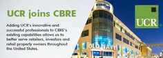 UCR, one of the most innovative and successful retail real estate advisors in the U.S., joins CBRE https://lnkd.in/ex4gKiV