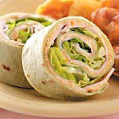 Roasted Vegetable Turkey Pinwheels - great way to sneak some veggies in for picky kids (or husbands)