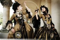 Baroque is Boring by Photographer Viona ielegems; Models Shien Lee and Vecona via viona-art.com