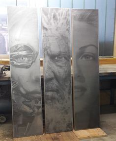 arte d'acciaio - disegni e scritte su acciaio