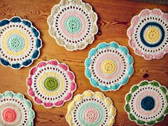 Crochet Doilies - Coco Rose Diaries makes