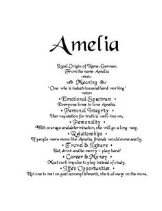 Hazel name meaning google search our little surprise pinterest name of amelia and meaning meaning of name order your gift by email you can negle Choice Image