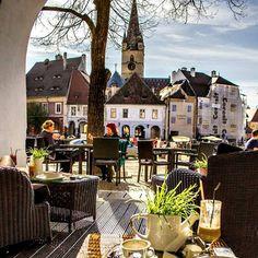 Sibiu Romania, Castle, Mansions, House Styles, Travel, Home Decor, Viajes, Decoration Home, Manor Houses