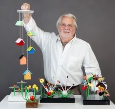 Made in St. Louis: Wooden mobiles and sculptures