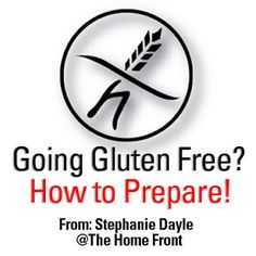 The Home Front: How to stock food and prepare for emergencies when you are Gluten Free. #glutenfree #prepping #foodstorage