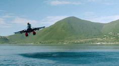 Secretive Startup Kitty Hawk Debuts Its Flying Jet Ski  - PopularMechanics.com