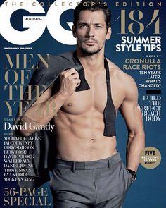 Hq David Gandy On The Cover Of Gq Australia December 2017 Men Year Edition By Jordan Graham