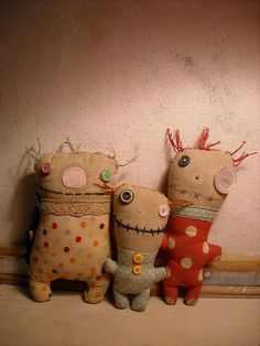 Uggy monster babies for grandbabies not to be scared of the monsters..must make