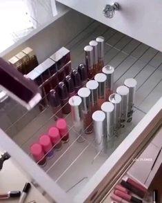 Lou Flores( has created a short video on TikTok with music Yikes. My fav Hack so far! Makeup Organization Ikea, Diy Makeup Storage, Make Up Storage, Organization Ideas, Makeup Storage In Bathroom, Beauty Storage Ideas, Ikea Hacks Makeup Vanity, Cheap Makeup Vanity, Diy Vanity Storage