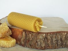 Pure Devon Beeswax Candle Bee Honeycomb £5.95