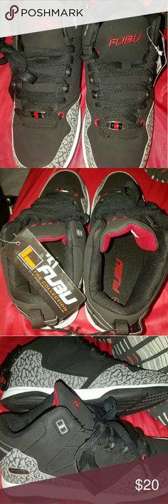36ed4801535e5a Fubu shoes size 7 Brand new shoes size 7 fubu black Red shoes fubu Shoes  Sneakers