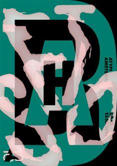 Galerie / Vincent Vrints, couleurs et typos en affiches / étapes: design & culture visuelle