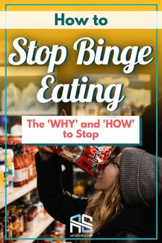 We think that if we restrict ourselves we will be able to just simply stop our binge. Unfortunately that 'forbidden fruit' is always too tempting and can lead us to a big binge later on. Allow yourself to eat mindfully and do not suppress yourself. Make sure your caloric deficit is not too extreme. These tips and others are waiting for you in this article. After reading, you will know how to stop binge eating. #healthyweightloss #fatloss #nutrition #healthydiet