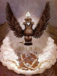 Scottish Rite. Two headed eagle is the demon called Mammon-Ra.
