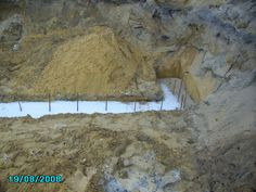 Karrinyup - 2408 - footings and thickening before slab down on a rear strata, small & difficult block