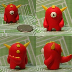 Cobem the Timid Monster by TimidMonsters.deviantart.com on @deviantART
