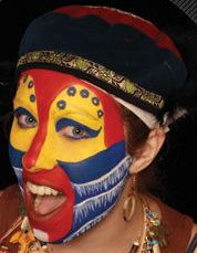 Rafiki Face Paint