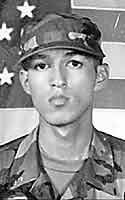 Army Spc. Richard Arriaga  Died September 18, 2003 Serving During Operation Iraqi Freedom  20, of Ganado, Texas; assigned to Headquarters and Headquarters Battery, 4th Battalion, 42nd Field Artillery Regiment, Fort Hood, Texas; killed Sept. 18 during an ambush by small-arms fire and rocket-propelled grenades in Tikrit, Iraq.