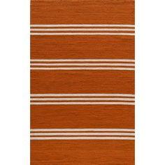 Momeni Veranda Tangerine Area Rug Rug Size: