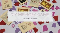 Tech Free Tuesday: DIY Memory Game   The Family That Plays
