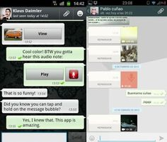 Upgraded Whatsapp launched with new User Interface and Fonts