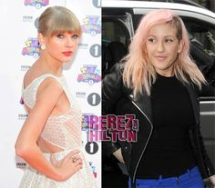 Ellie Goulding will always be better than *shudders* Taylor Swift.