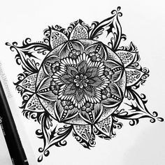 We love this mandala by @rosealmarzooqi. Check out and follow this amazing artist!  submit your mandala to be featured on this page by using the hashtag: # mandalala  #mandala #sacredgeometry #art #mandalaart #mandalalove #mandaladesign #doodleart #doodle #zentangle #zendoodle #zenspire #zen #meditation #handmade #art #instaart #love #beautiful #pretty #inspiration #ink #namaste #pattern #love #instagood #amazing #creative #picoftheday #tattoo #patterns #arttherapy #illustration