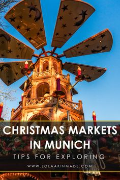 A guide to exploring the Christmas Markets of Munich, Germany. With two dozen markets in this German city alone, this guide nails down which ones to visit and how to best divide your time. Festive travel in Europe. Christmas Travel, Holiday Travel, Christmas Markets, Europe Travel Guide, Europe Destinations, Traveling Europe, Travel Guides, European Vacation, European Travel