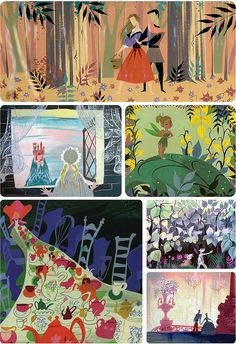 I just love Mary Blair's illustrations!