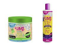 Gelatina de finalização e Pré-shampoo e Co-Wash. Liberados!