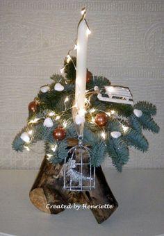 Deze boomstronk is gemaakt door mensen met een beperking van s'Heerenloo in Julianadorp en ik heb deze opgepimpt!