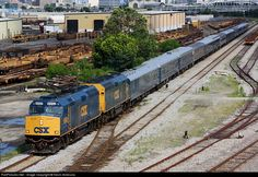 RailPictures.Net Photo: CSXT 9992 CSX Transportation (CSXT) EMD F40PH at Jacksonville, Florida by Kevin Andrusia