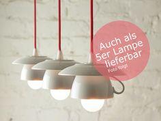 5er-Tassenlampe+mit+rotem+Textilkabel+von+Der+Lampenladen+auf+DaWanda.com