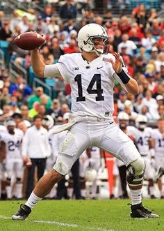 Penn State Football QB Christian Hackenberg says that he'll forgo his senior season and declare for the NFL Draft.  1/2/2016