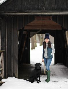 Hi everyone! It has been warming up lately (finally in the 30's!), and Scout and I were so excited to finally be able to go on a walk witho...