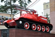 Fire Apparatus, Chenille, Military Weapons, Emergency Vehicles, Car Engine, Fire Trucks, Firefighter, Military Vehicles, Cool Cars