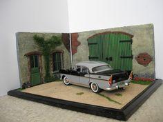 Diorama (Détails) cour de ferme