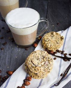 Light as air Coffee Bean Crunch Italian Cookies made with just four ingredients and loaded with coffee and hazelnuts! Coffee's Best Friend!