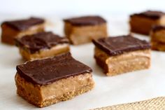 Healthy peanut butter date bars