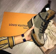 shoes, boots, and Louis Vuitton image Women's Shoes, Hot Shoes, Crazy Shoes, Me Too Shoes, Shoes Sneakers, Heeled Boots, Bootie Boots, Shoe Boots, Lv Boots